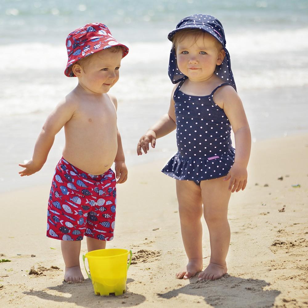 38a0dd246 Gorros de Playa para Niños con Protección solar UPF +50
