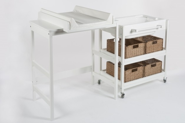 Accesorios Baño Quax:Muebles Cambiador con Bañera de Quax