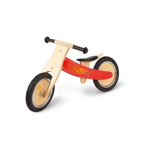 Bicicleta de madera sin pedales Roja - Pinolino