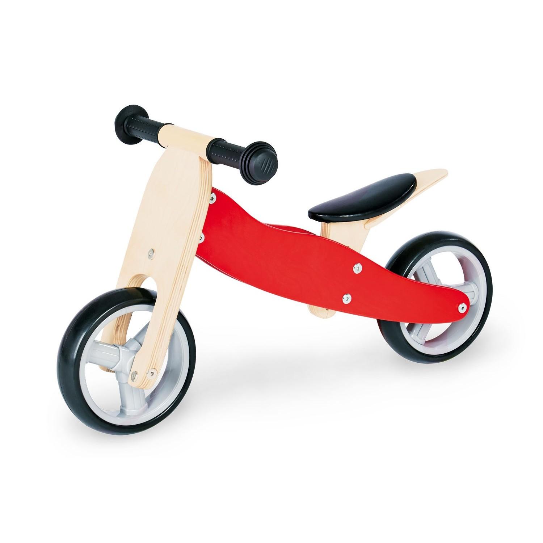 Triciclo de Madera Transformable en Bici Charlie - Pinolino