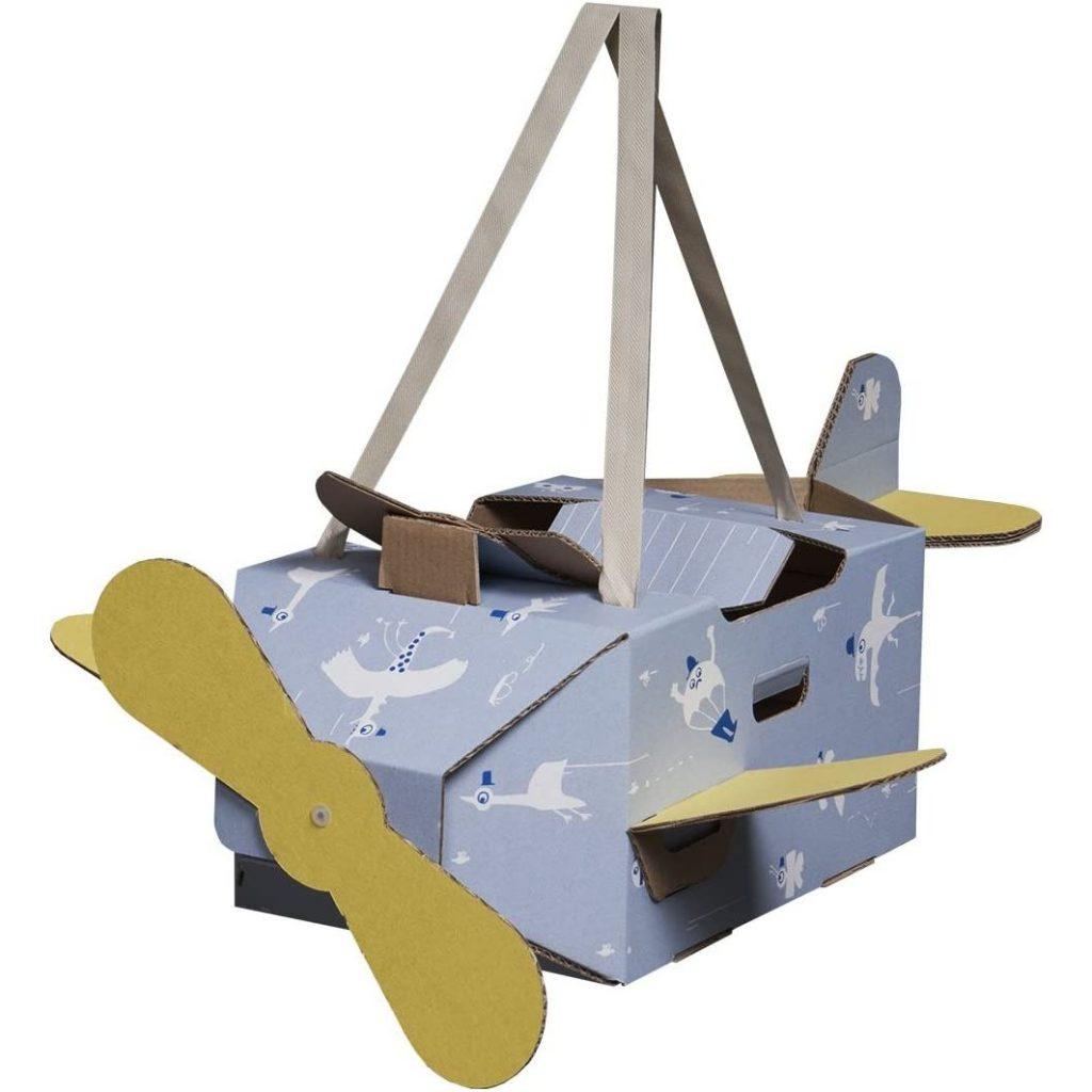 Avión de cartón Mister Tody grande