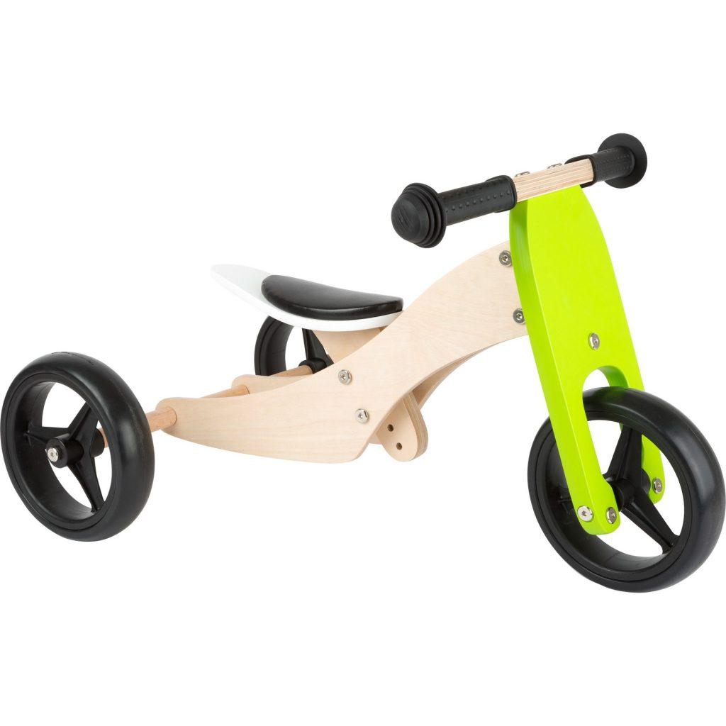 Triciclo de madera transformable, Legler