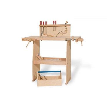 Bancos de Trabajo Infantiles de madera