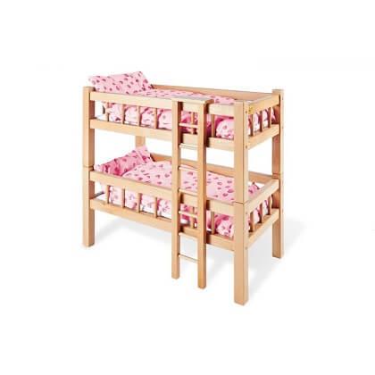 Muebles de madera para Muñecas Pinolino