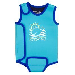 Ba ador de neopreno para beb s azul shopmami - Gorro piscina bebe ...