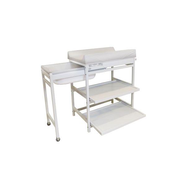 Mueble de Baño Cambiador con Bañera Quax Confort - Color Blanco