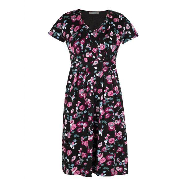 Vestido Premamá y Lactancia Black Floral