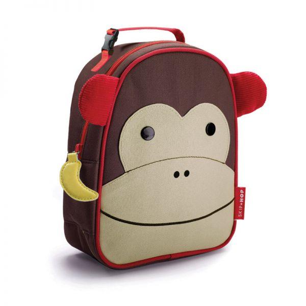 SkipHop Mochila Isotérmica Zoolunchies Monkey