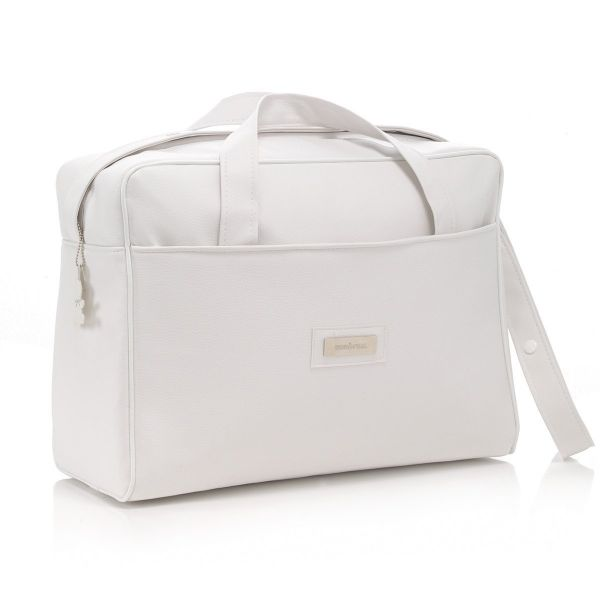 Bolso Canastilla de Hospital - Color Blanco - Polipiel