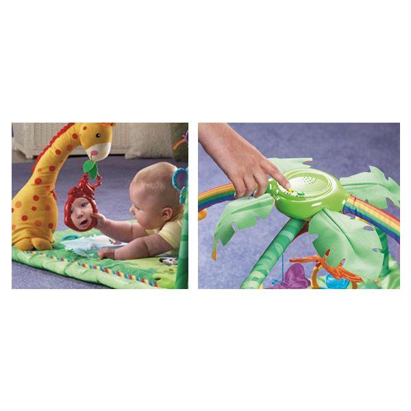 Alfombra Gimnasio para Bebés de Fisher Price Rainforest