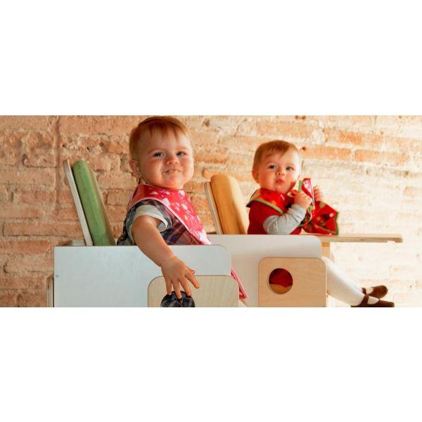 Tronas para Gemelos Convertibles Dúo Silla Osit de Nuun Kids