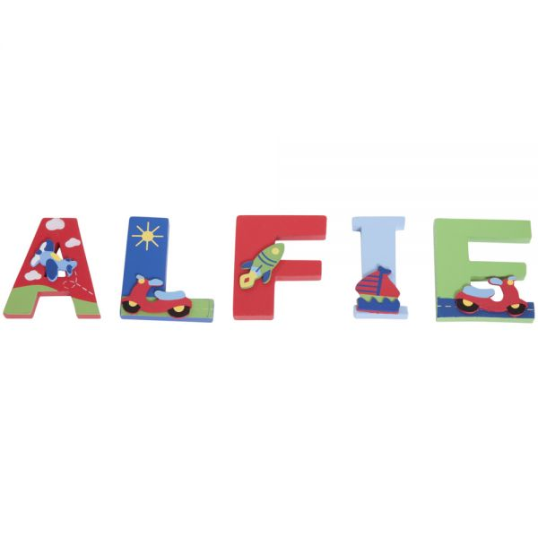Letras de Madera Infantiles Nombre de Niño