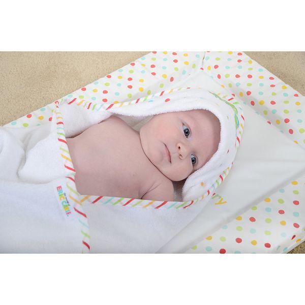 Capa de Baño Bebé La Oruga Hambrienta