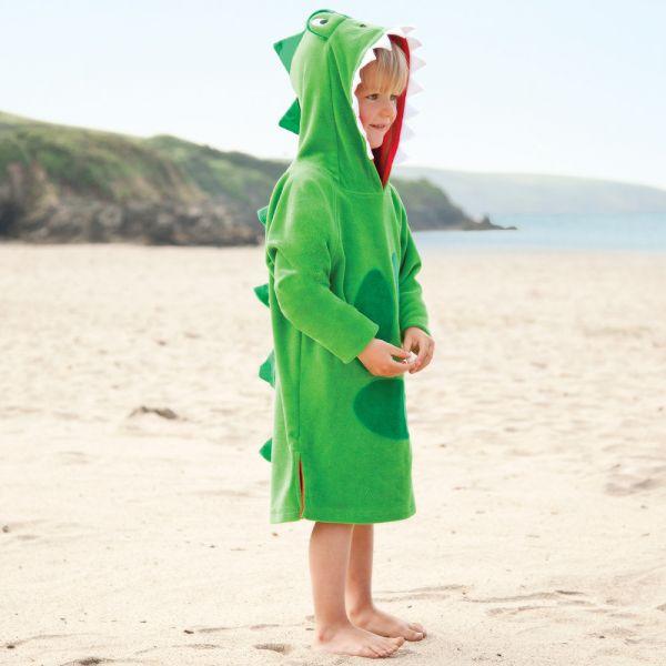Albornoz ni a playa y piscina de dinosaurio shopmami - Albornoz nina ...