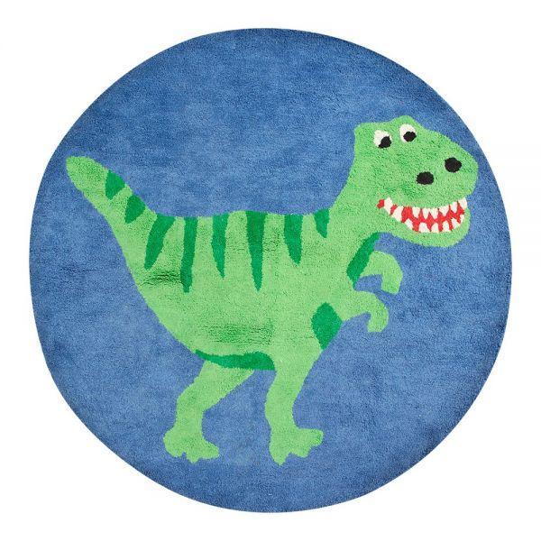 Alfombra redonda dinosaurio habitaci n infantil shopmami - Alfombra redonda infantil ...