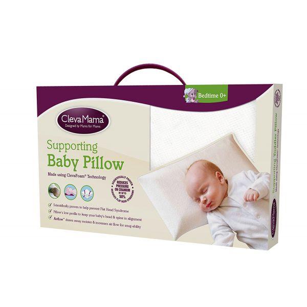 Almohada de bebé evita Síndrome de Cabeza Plana de