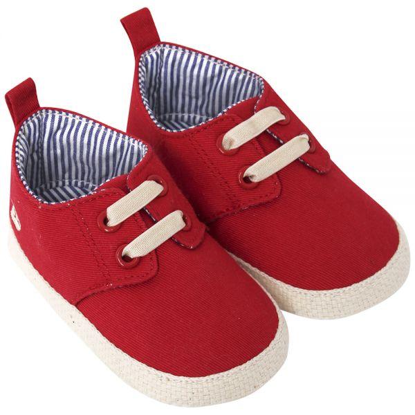 Alpargatas para Bebés y Niños en Color Rojo
