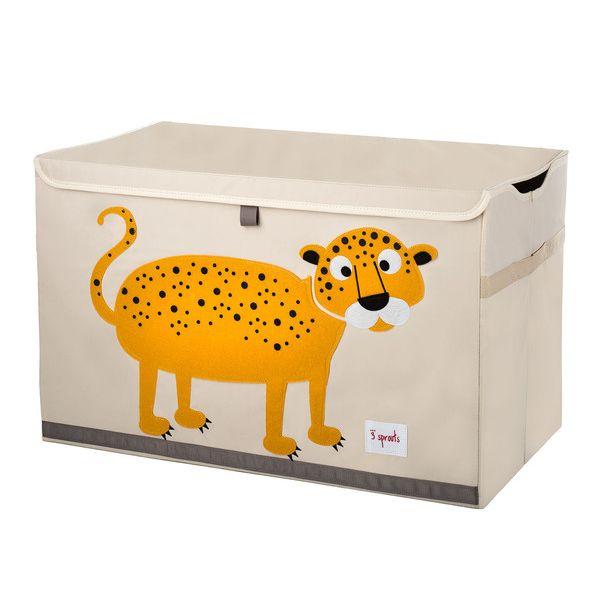 Arcón para Juguetes Leopardo