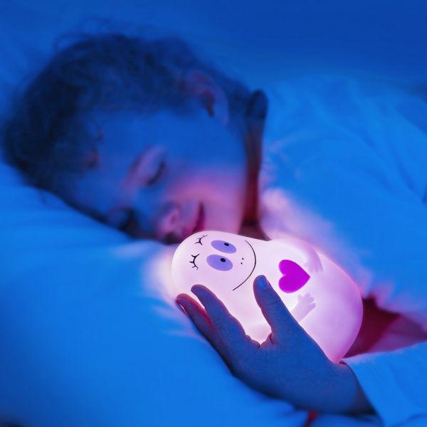 Proyector de Luz para dormir Niños Barbapapa de Pabobo Rosa