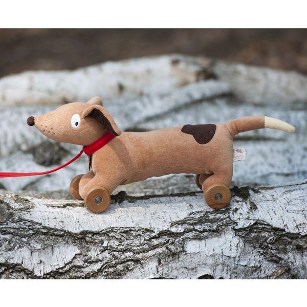 Perro de Juguete con Ruedas