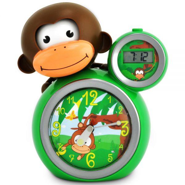 Despertador de Niños y Bebés de BabyZoo Momo en Color Verde