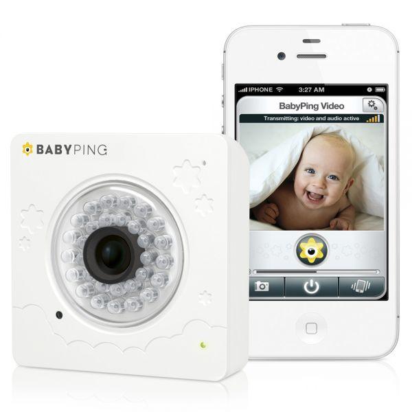 Vigilabebés BabyPing.Vigila a tu Bebé desde un Iphone&IPad