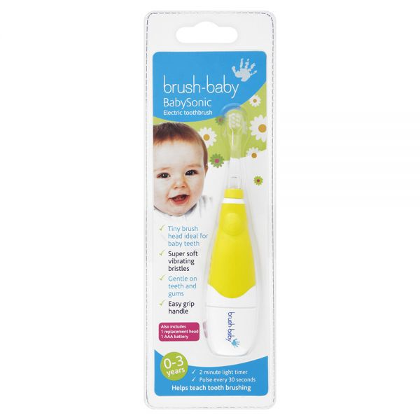 Cepillo de dientes Eléctrico para Niños de Brush-Baby