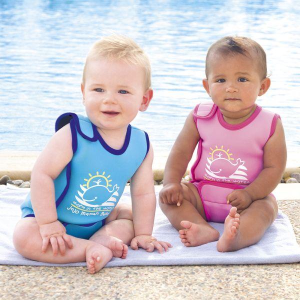 Bañador de Neopreno para Bebés Fucsia