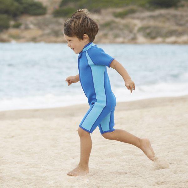 Bañador de Neopreno para Niños Azul