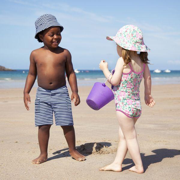 Bañador Bermuda para Niños - Tejido Algodón