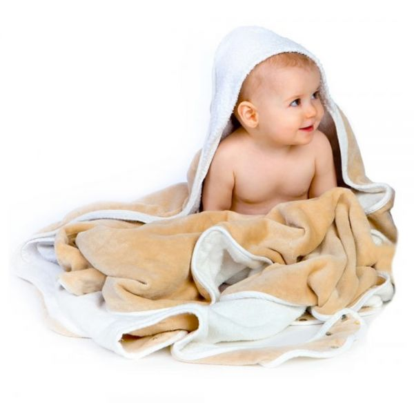 Toalla Delantal para Bebés - Algodón Orgánico
