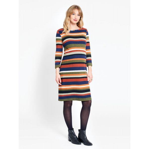 Vestido Premamá Rayas Colores
