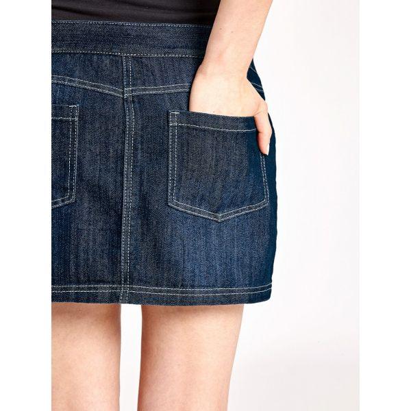 Minifalda Premamá Vaquera