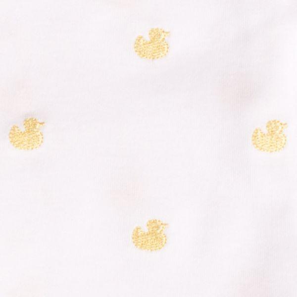 Pijama Bebé Bordado Patitos Amarillos