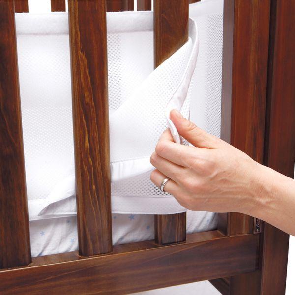Protector de Cuna 4 Caras Transpirable - AirWrap