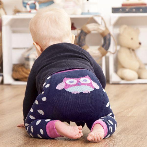 Leggings para Bebés y Niñas Buho