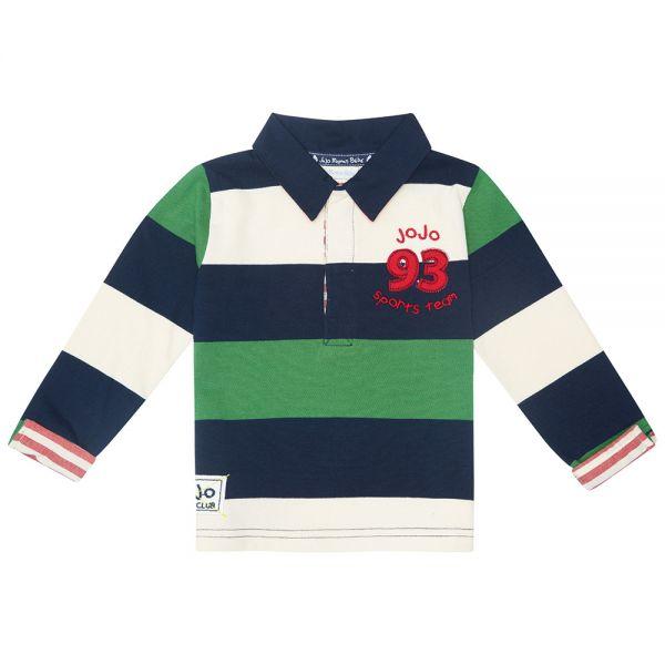Camiseta Cuello Polo Rugby