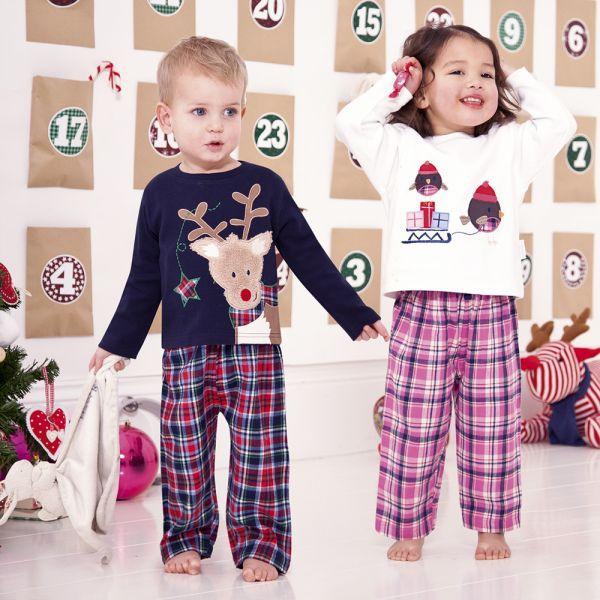 Pijama de Franela - Estampado Reno