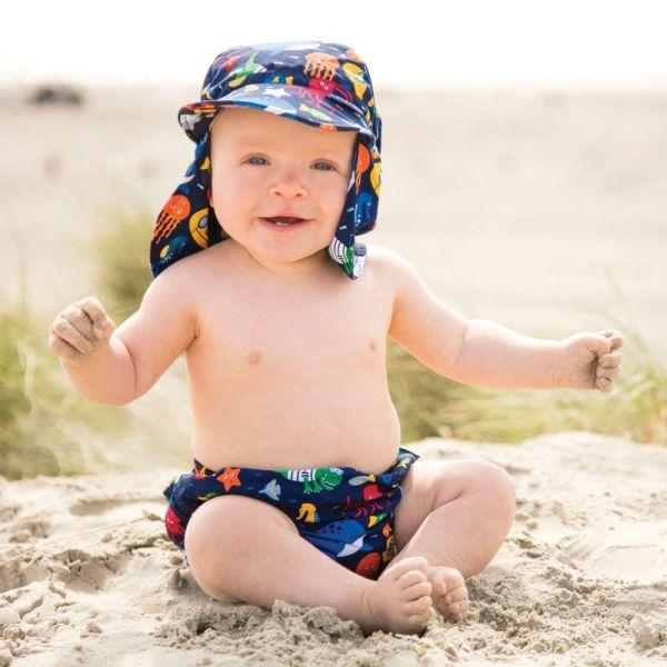 Bañador Pañal Antifugas Bebé Ocean