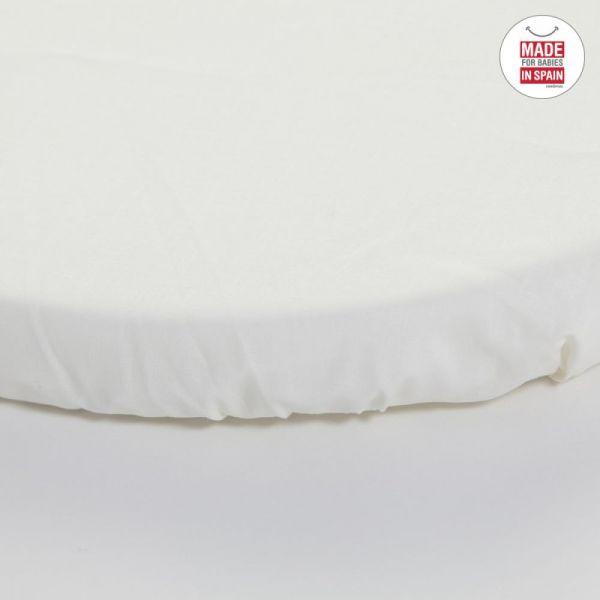 Bajera Blanca para Capazo y Cochecito 35 * 78 Cambrass