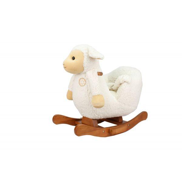 Balancín de Madera para Bebés de Tutti Bambini - Ovejita Blanca