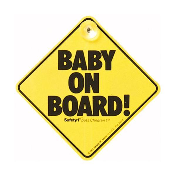 Bebé a Bordo - Safety 1 st