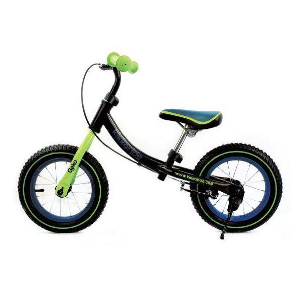 Bicicleta Infantil de Equilibrio Geko negra - Kikkaboo