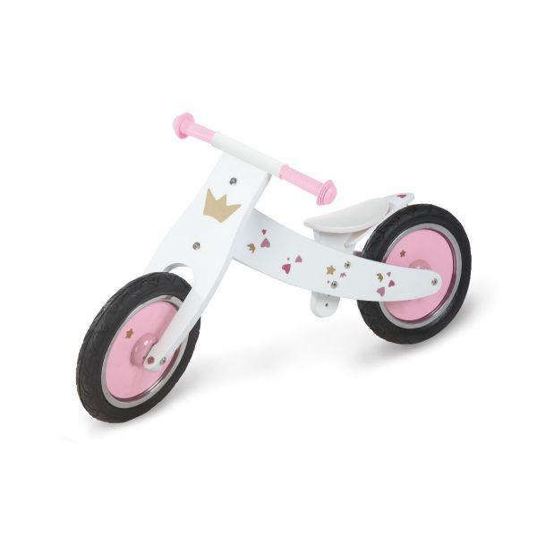 Bicicleta de Madera sin Pedales Rosa - Pinolino