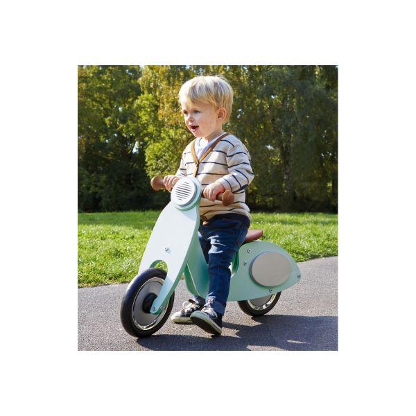 Bicicleta Vespa sin Pedales color Menta de Pinolino