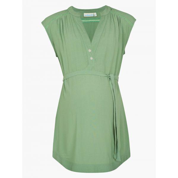 Blusa Premamá Verde de Verano