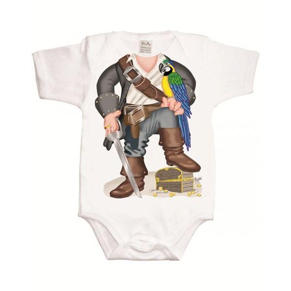 Body para Bebé Pirata