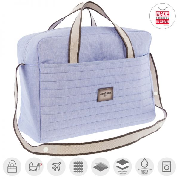 Bolso Maternal Maletin Denim - Cambrass