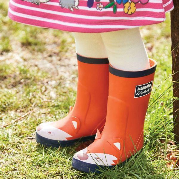 Botas de Agua para Niños Zorro