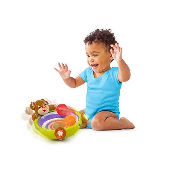 Bright Starts Spin & Giggle - Perrito de juguete
